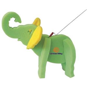 Elephant on a Leash