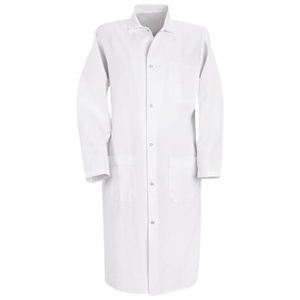 Gripper Front Butcher Frock with inside top pocket
