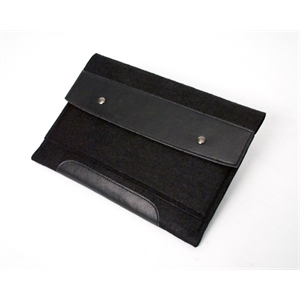 "Threads - Ipad Sleeve; Made From Durable Faux Felt With Classic Black Trim; 11.5"" X 8.5"""