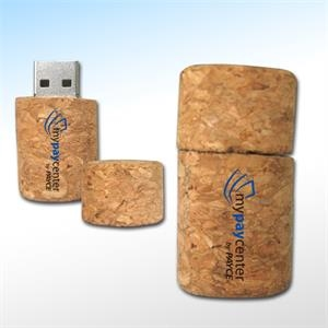Natural Color Wooden Shape Usb Flash Drive