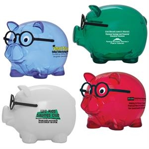 Smart Saver - Piggy Bank With Twist Off Plug On Bottom