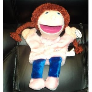 Soft Plush Toy Girl Hand Puppet