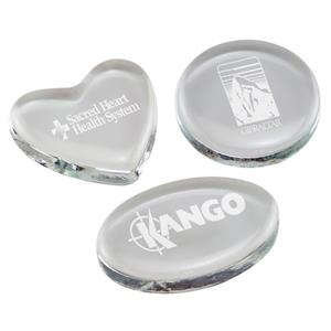 Glass Paperweights-Engraved