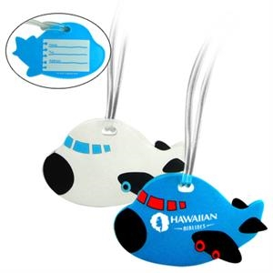 Airplane Shaped Luggage Tag