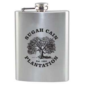 Stainless Flask, 8 Oz. 2 Day Quickship