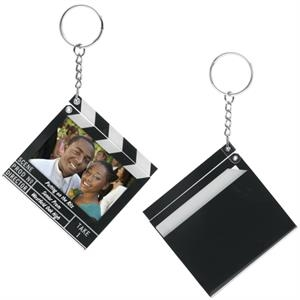 Clapboard Snap-In Key Tag