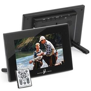 "7"" Digital Photo Frames. Built In 128mb Internal Memory. Resolution 800x480"