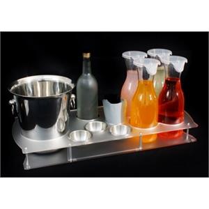 Acrylic Bottle Service tray