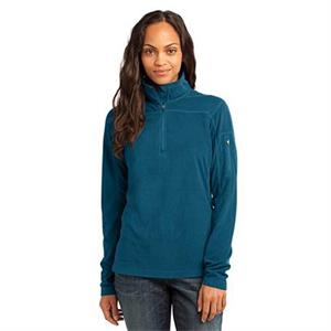Port Authority (r) - 2 X L - Ladies' Grid Fleece Pullover Jacket With Princess Seams