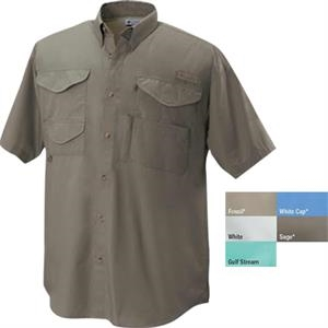 Bonehead (tm) - 3 X L - Relaxed Fit Short Sleeve Shirt With Rod Holder And Utility Loop