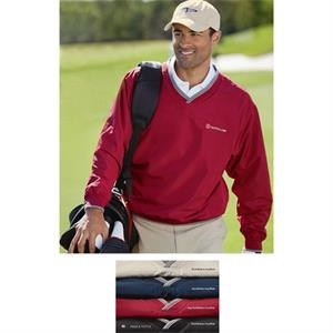 Cool Swing (r) - 2 X L - Men's Water And Wind Resistant Performance Windshirt With Tipped Knit Cuffs