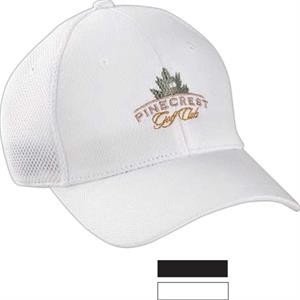 Performance Solid Mesh Cap With Pre-curved Visor
