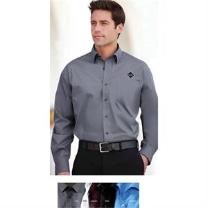 Classics - S- X L - Men's Perfect Stretch Poplin Shirt With Wrinkle-resistant Finish