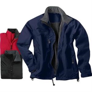2 X L - Fleece-lined Jacket, Windproof And Water Resistant