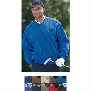 Lt- X Lt - Fully Lined Microfiber Windshirt With Mesh-lined Body And Polyester-lined Sleeves