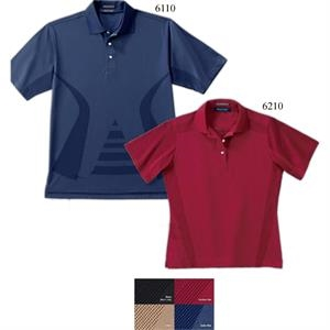 S- X L - Men's Body-mapping Polo Shirt With Droptail Hem
