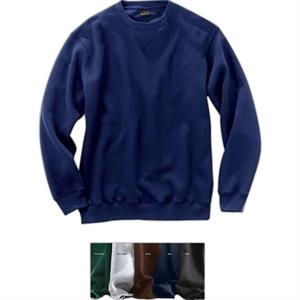 Signature Series (r) - 4 X Lt - Crewneck Sweatshirt With Front V-notch