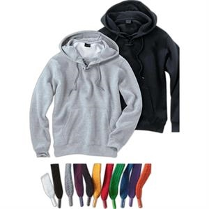 Signature Series (r) - 3 X L - Lace-up Hooded Sweatshirt With Matching Lace Tipped