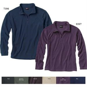 Element (tm) - 3 X L - Men's Nano Fleece Pullover With Quarter Length, Zip-through Collar