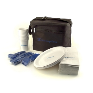 Paper Tailgater Set in disposable bag