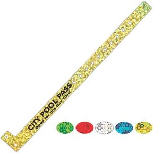 "Printed Narrow Sparkle Wristband, 5/8"" W X 11"" L"