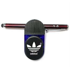 Magnetic memo clip holder