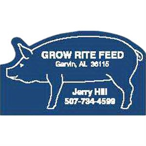 Peel-n-stick (r) - Printed - Pig - A Calendar Is The Single Most Powerful Promotional Item On The Market