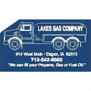 Peel-n-stick (r) - Printed - Propane Truck - A Calendar Is The Single Most Powerful Promotional Item On The Market