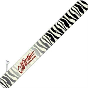 Promobands (r) - Zebra - Reusable Bands Made From Specially Formulated Tear-resistant Plastic