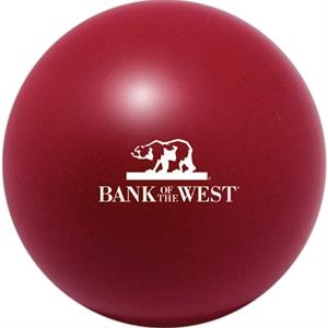 Squeezies (r) - Burgundy - Stock Color Stress Ball