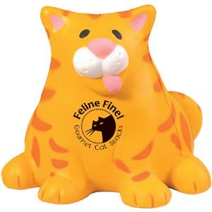 Squeezies (r) - Fat Cat Shape Stress Reliever