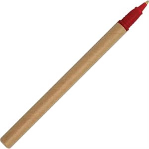 Red - Eco-friendly Ballpoint Pen Made From 50% Recycled & 40% Biodegradable Material