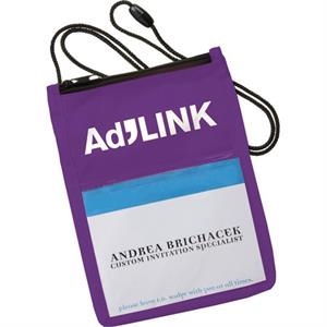Non-woven Polypropylene Identity Badge Holder
