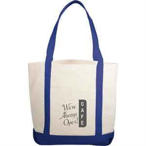 The Casablanca - Boat Tote Made From 12 Oz Cotton Canvas