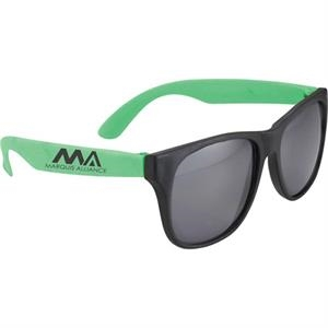 Retro - Plastic Sunglasses With Uv Protection