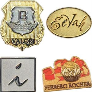 "Eevah Moonlit Eevah - 1"" - Die Struck Iron Two Tone Lapel Pin With Military (butterfly) Clutch"