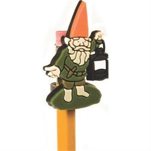 "1 1/2"" - Custom Pencil Topper With 2-d Multi Level Design"