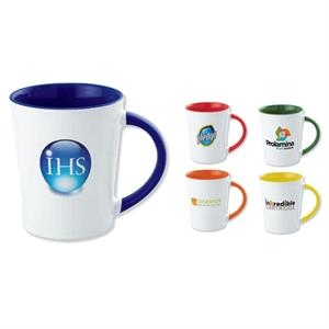 5 Working Days - Blue - Full Color Two-tone Stoneware Mug, 12 Oz