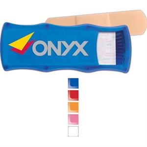 Quick-care - Bandage Dispenser With 5 Latex Free Plastic Bandages, Refillable