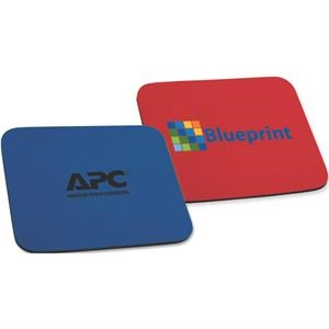 "Silkscreen - Economy, 1/4"" Thick Economy Mouse Pad With A Lightweight Rubber Base"