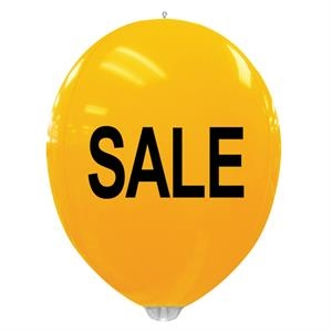 "Stock Sale Design - Balloon Ball, 24"". No Helium Required. Made Of Heavy-duty Vinyl"