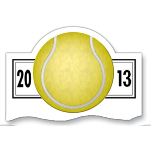 Magnet 20 Mil - Tennis Schedule. Digital Four Color Process Print; Size 3 X 5""