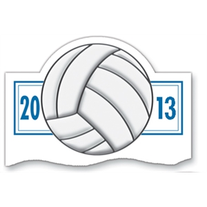 Magnet 20 Mil - Volleyball Schedule. Digital Four Color Process Print; Size 3 X 5""