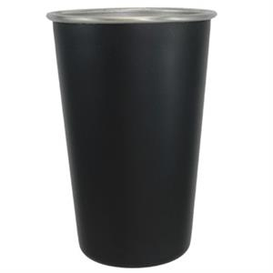 Matte Black - 16 Oz. Stainless Steel Pint Tumbler