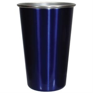 Blue - 16 Oz. Stainless Steel Pint Tumbler