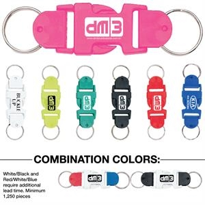 Buckle-up - Catalog 5-7 Day Production - Clever And Fun Detachable Design Key Tag