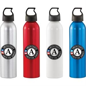 Patriot (tm) - Lightweight 24 Oz. Aluminum Sports Bottle With Bpa Free Liner