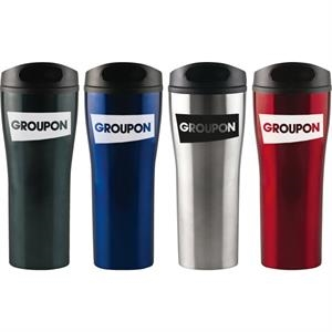 Prelude (r) - Sale 5-7 Day Production - 18 Oz. Stainless Travel Mug, Double Wall Insulated With Twist And Lock Lid