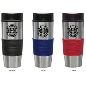 Tundra (tm) - Sale 5-7 Day Production - 16 Oz. Tumbler Has Stainless Steel Exterior, Drink Through Lid And Is Bpa Free