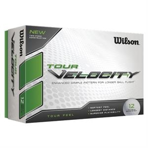 Wilson (r) Tour Velocity - Sale 8-12 Day Production - Golf Ball With Hard Ionomer Cover